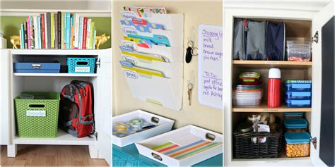 organizing tips 27 back to school organizing tips ideas for going back