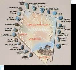 arizona turquoise mines map turquoise information page two