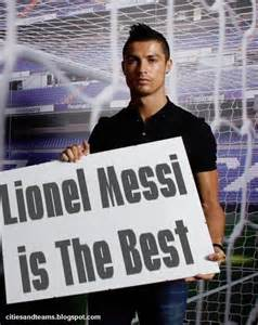 messi and ronaldo who is the best cristiano ronaldo lionel messi is the best c a t