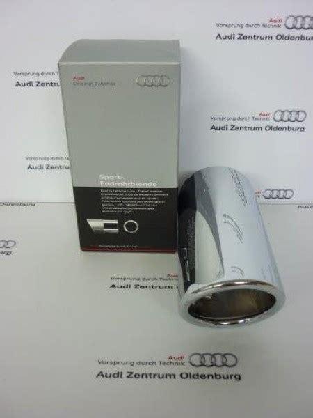 Audi A3 Auspuffblende by Audi A1 A3 Endrohrblende Auspuffblende Chrom 8p0071771