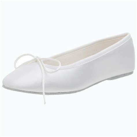 dyeable flat shoes ballet touch ups s ballet dyeable flat white 8 5 m