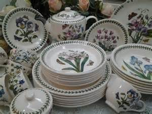 The Botanic Garden Portmeirion Lovely Treasures From Garden Portmeirion Botanic Garden Dinner Set Pre Order