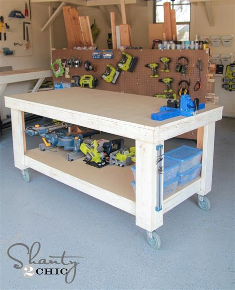 workshop bench designs workbench building ideas purple39tgo