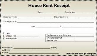 landlord receipt template house rent receipt format free word templates