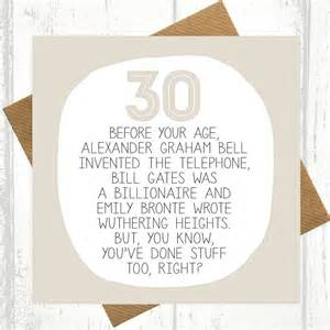 by your age 30th birthday card by paper plane notonthehighstreet