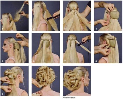 fantasy hairstyles step by step 677 best cabello y m 225 s images on pinterest short films