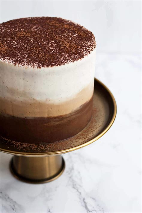 Tiramisu Torte by Tiramisu Layer Cake With Ombre Mascarpone Frosting Eat