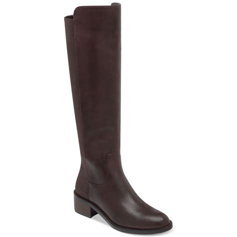 bcbgeneration boots bcbgeneration jericho shaft stretch boots in brown lyst