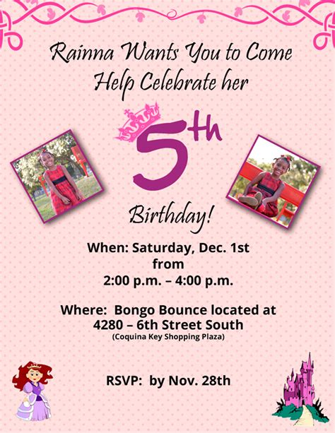 codashop amazon birthday invitation wording for 4 year old images