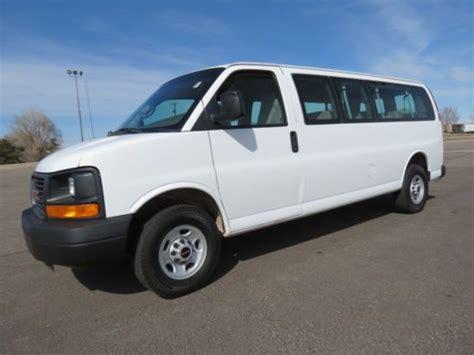 sell used 2007 gmc savana 3500 extended 15 passenger