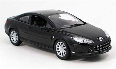Diecast Welly Nex Coupe 407 Peugeot 1 32 peugeot 407 coupe negro welly coches miniaturas 1 18