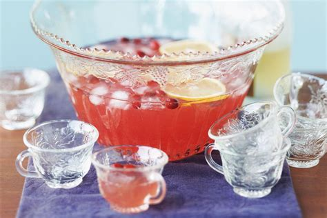 easy chagne punch recipe with pomegranate