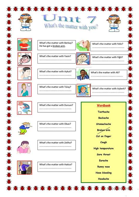 what is matter worksheet what s the matter with you worksheet free esl printable worksheets made by teachers