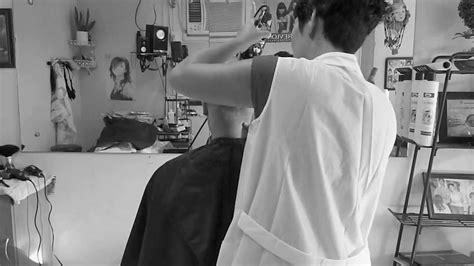 manual clipper haircut in progress manual clippercut and clippers headshave