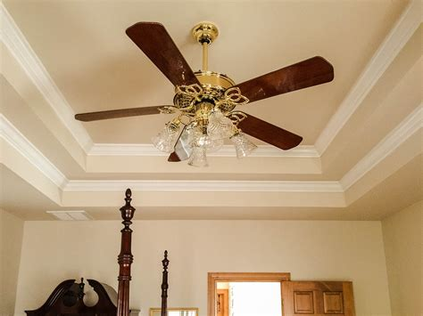 ceiling fan crown molding free photo ceiling fan tray ceiling free image on