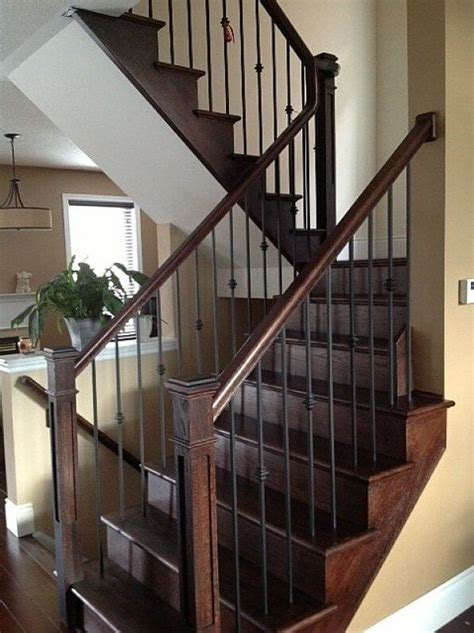 Iron Banister Rails by 25 Best Ideas About Iron Staircase On Iron