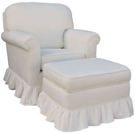 upholstered rocking chair and ottoman angel song white matelasse upholstered rocker glider chair