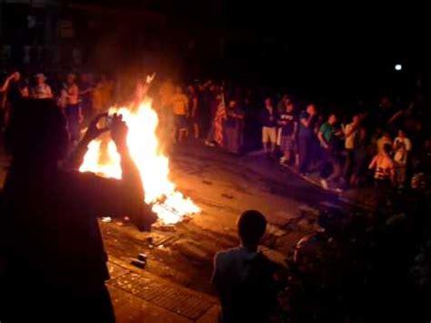 burning couches wvu wvu osama fireworks couch burning grant avenue osama s
