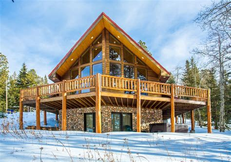 City Lodge Cabins by Snow Lodge On Terry Peak Tub 2 Vrbo