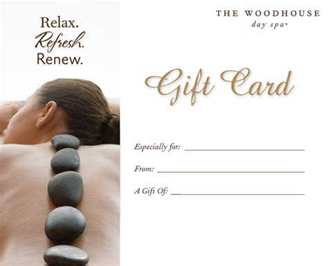 Spa Gift Card - purchase a gift card woodhouse day spas cincinnati oh