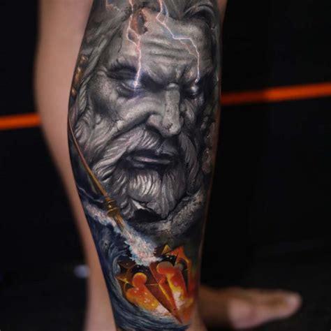 neptune tattoo designs neptune god best ideas gallery