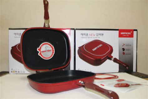 Panci Happy Call Asli happy call panci pan 28 30 32 cm grillpan