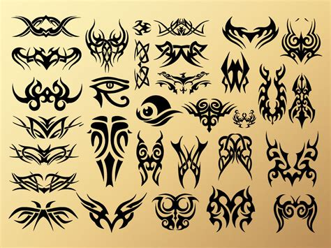 tribal tattoo vectorial tribal tattoos