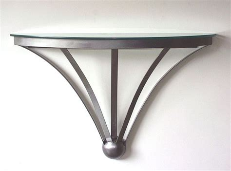 wall accent tables half moon table for the home inside and out pinterest