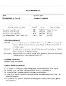 biosketch template phs 398 rev 9 04 biographical sketch format page