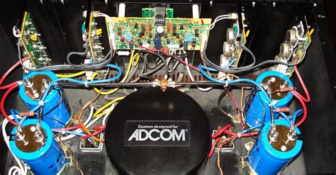 adcom gfa 555 capacitors post a picture audio related only page 5 polk audio