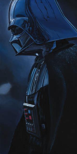 dark force darth vader star wars original painting