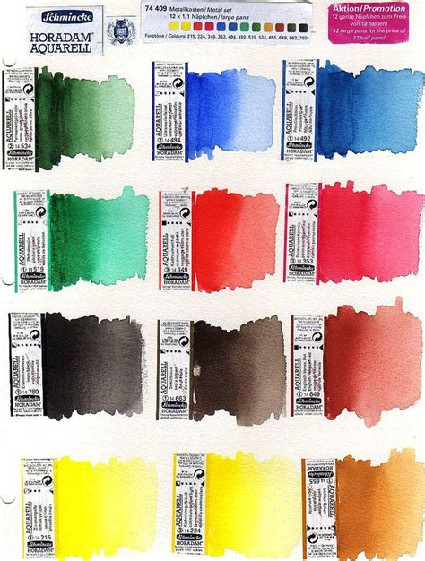 schmincke watercolor the 149 best images about watercolour paints schmincke on