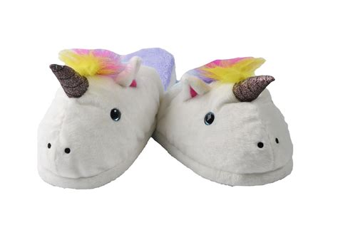 unicorn house slippers unicorn house slippers 28 images stompeez unicorn slippers iwoot children