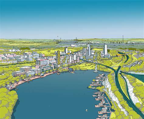 The Garden City ebbsfleet development corporation the news from
