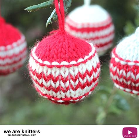 knitting holidays how to knit ornaments we are knitters