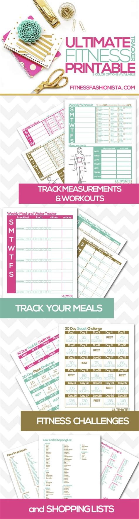 printable weight loss planner the top 5 absolute best fitness and weight loss planners
