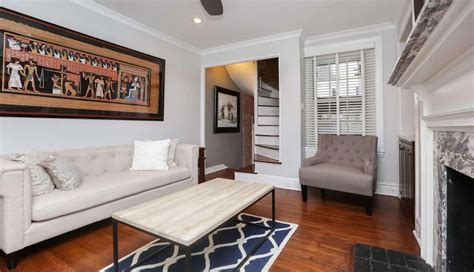 Philly House With Three Floors by Tuesday Three Plus Two In Rittenhouse For 499k