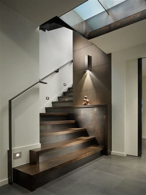 modernes treppenhaus contemporary staircase design ideas remodels photos