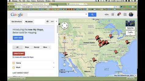 design a google map google tip create a google map from spreadsheet data