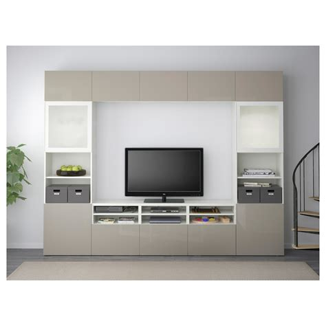 ikea besta storage combination with doors and drawers best 197 tv storage combination glass doors white selsviken