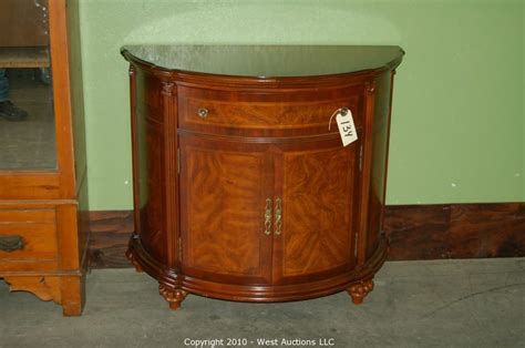half circle entry table auctions auction northern california estate