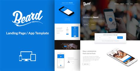 app landing page template 20 best technology landing page templates 2016