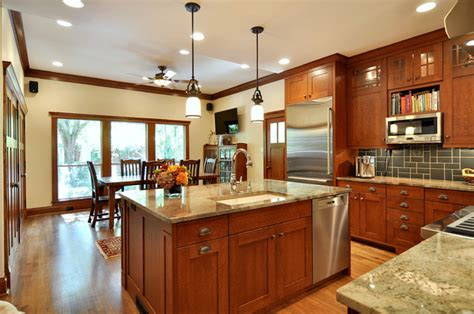 Most Popular Kitchen Cabinet Hardware craftsman inspired kitchen craftsman kitchen dallas