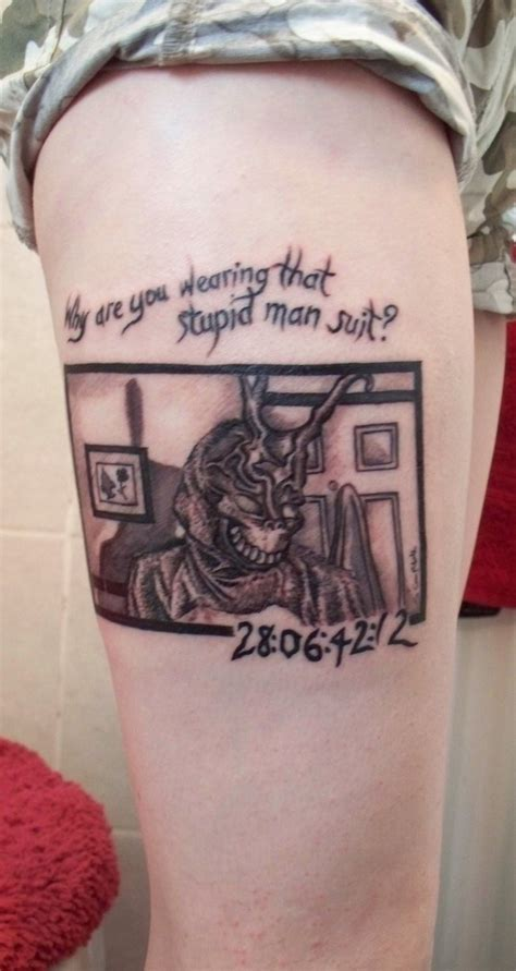 donnie darko numbers tattoo meaning donnie darko tattoo by chemicalssavedme on deviantart