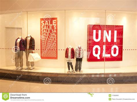 Uniqlo Gift Card In Store - china uniqlo store editorial photography image 17956892