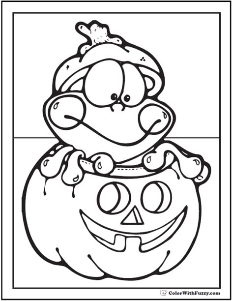 halloween frog coloring page 72 halloween printable coloring pages customizable pdf