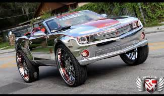 king of bling chevy camaro ss convertible car tuning