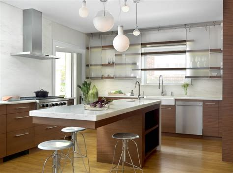 kitchen floating island 40 kitchen island designs ideas design trends