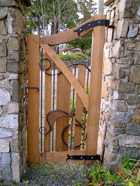 Wooden Soutern Grind de 10 b 228 sta id 233 erna om iron garden gates p 229