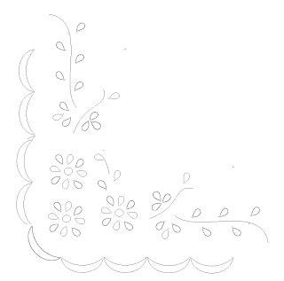 Bantal Alas Kursi Motif Polos w sulaman sulaman putih